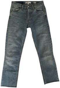 RE/DONE Re/Done Vintage Straight Leg Jeans-Medium Wash