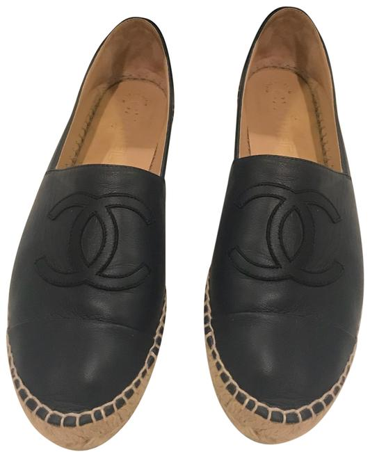 Item - Dark Navy Flats Size EU 39 (Approx. US 9) Regular (M, B)