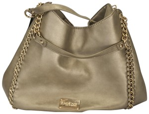 bebe Chunky Chain Hardware Hobo Bag