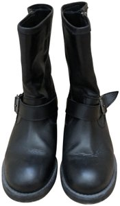 Buffalo David Bitton Studded Black Boots