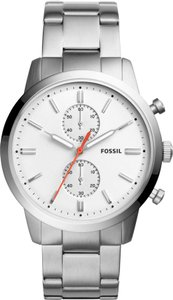 Fossil Fossil Men's Townsman 44mm Chronograph Stainless Steel Watch FS5346