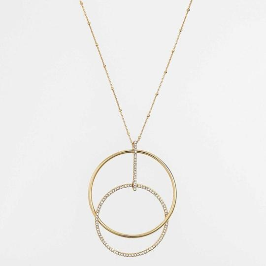 Kate Spade NEW Gold-Tone Ring It Up Pendant Necklace Image 1
