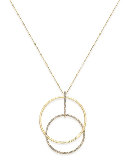 Kate Spade NEW Gold-Tone Ring It Up Pendant Necklace Image 5