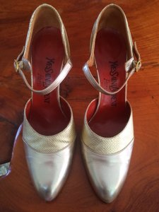 Saint Laurent Ysl Vintage Wedding Shoes