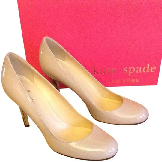 0a18abe20 Kate Spade Beige Nude Karolina Pumps Size US 7.5 Regular (M, B ...