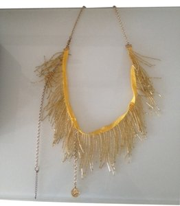 Ross-Simons Designer simons statement gold yellow necklace