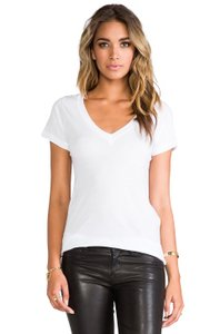 James Perse Casual T T Shirt White