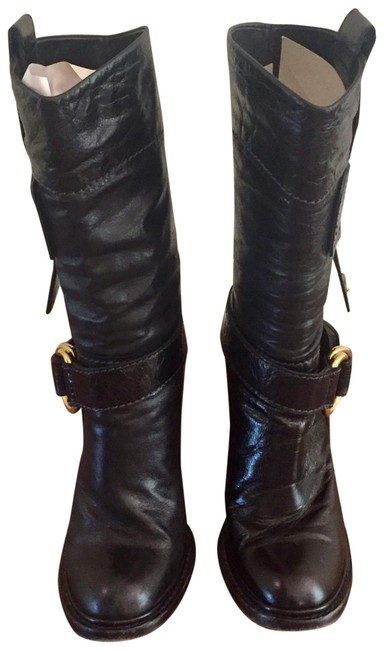 Chloé Black Aged Boots/Booties Size EU 36.5 (Approx. US 6.5) Regular (M, B) Chloé Black Aged Boots/Booties Size EU 36.5 (Approx. US 6.5) Regular (M, B) Image 1