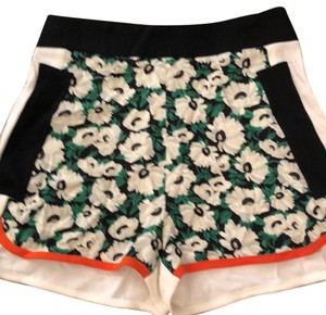 Stella McCartney Dress Shorts black, green, white, orange