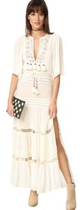 cream Maxi Dress by Cleobella