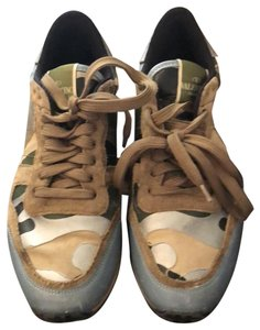 Valentino Green, blue, Tan, red Athletic