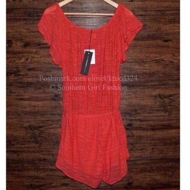 ETERNAL SUNSHINE CREATIONS Jumper Ruffle Trim V Neck Surplice Free People Fp New Wedding Guest Party Dress Image 3