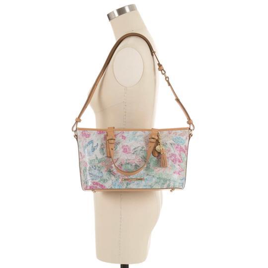 Brahmin Satchel in creme/Multi Image 11