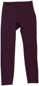 Outdoor Voices OV Limited Edition Burgundy TechSweat Leggings