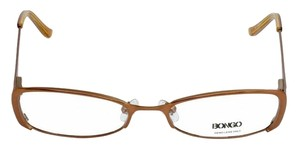 Bongo BG0032-CUTIE-D96-50 Women's Brown Frame Clear Lens Genuine Eyeglasses