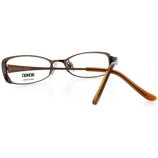 Bongo BG0032-CUTIE-D96-50 Women's Brown Frame Clear Lens Genuine Eyeglasses Image 2