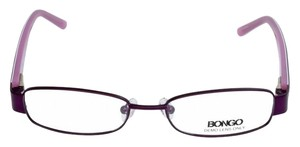 Bongo BG0071-LILA-N85-49 Women's Purple Frame Clear Lens Genuine Eyeglasses