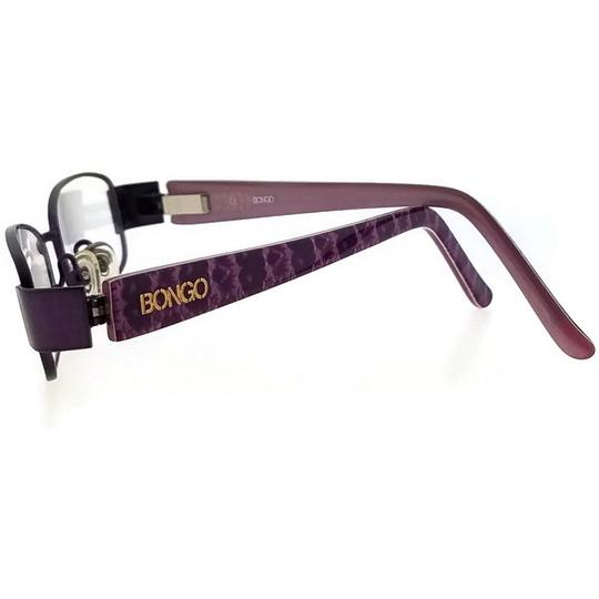Bongo BG0071-LILA-N85-49 Women's Purple Frame Clear Lens Genuine Eyeglasses Image 1