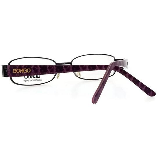 Bongo BG0071-LILA-N85-49 Women's Purple Frame Clear Lens Genuine Eyeglasses Image 2