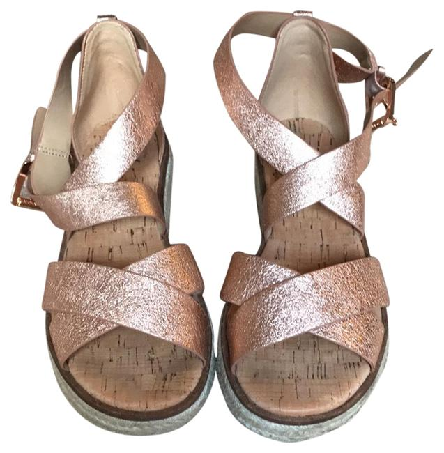 Item - Rose Gold Espadrilles Flats Size US 7.5 Regular (M, B)