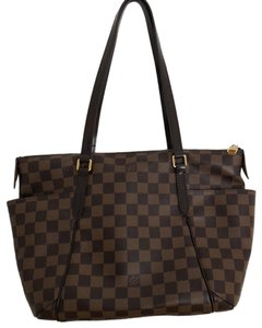 Louis Vuitton Neverfull Totally Speedy Gracefull Monogram Tote in Damier Canvas