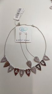 Betsey Johnson Silver New