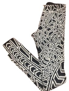 RVN black white Leggings