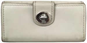Coach Coach Leather Wallet with Turn Key Lock