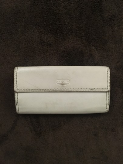 Coach Coach Leather Wallet with Turn Key Lock Image 1