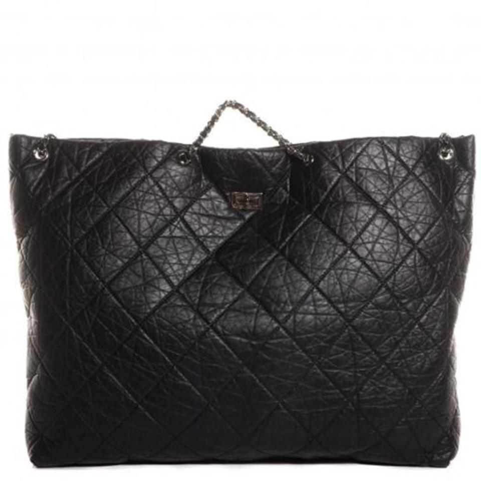 154aba04511dc1 Chanel 2.55 Reissue Aged Calfskin Oversize Extra Large Tote Caviar ...
