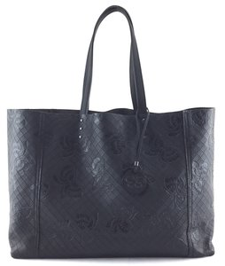 Bottega Veneta Bv Butterfly Intrecciomirage Interwoven Tote in brown