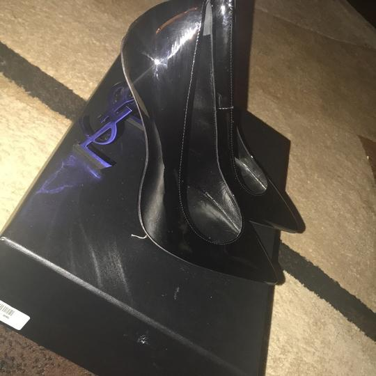 YSL black and the heel is blue Pumps Image 1