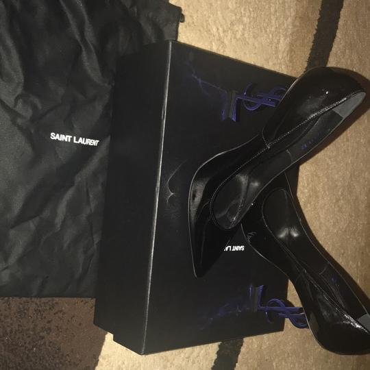 YSL black and the heel is blue Pumps Image 7