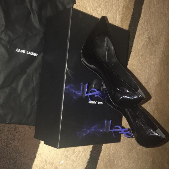 YSL black and the heel is blue Pumps Image 8