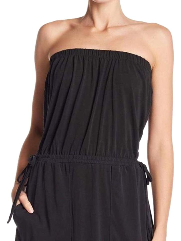 1.STATE Black/ Rose Nordstrom Strapless Long