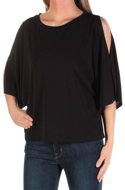 Preload https://img-static.tradesy.com/item/24034057/rachel-roy-black-womens-out-jewel-neck-short-sleeve-xs-bb-blouse-size-0-xs-0-1-650-650.jpg