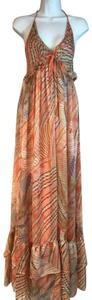 Salmon Maxi Dress by BDBA Maxi