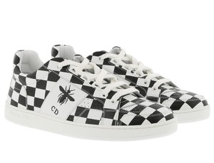 Dior Sneakers Bee Checkered white, black Athletic