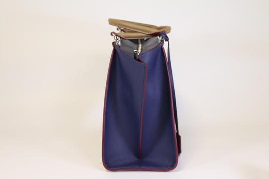 Fendi 3jours 3jours 3jours Tote in Sand/Blueberry Image 3