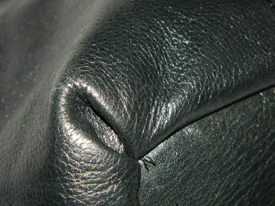 Coach Leather Tote in Black Image 6