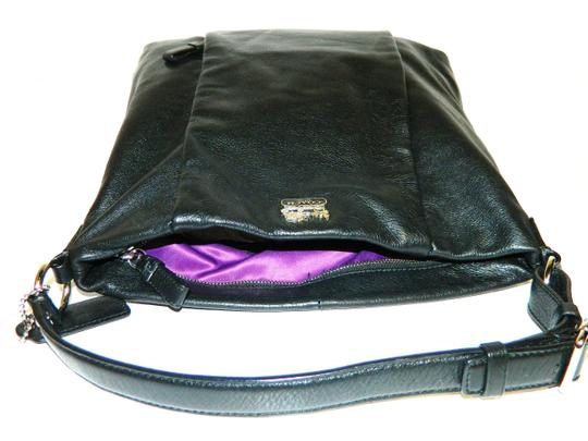 Coach Leather Tote in Black Image 8