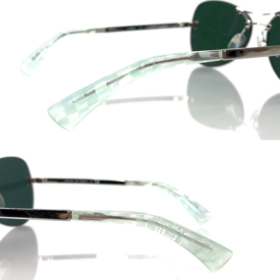 574e444d622 Chanel Silver 4218 Butterfly Mirrored Crosshatch Sunglasses - Tradesy