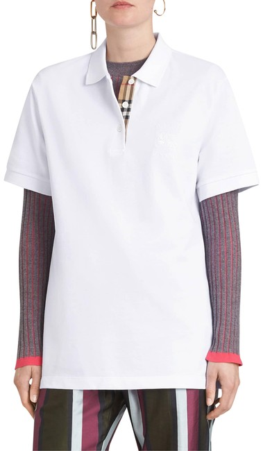 Preload https://img-static.tradesy.com/item/24034336/burberry-white-new-hartford-pique-polo-tee-shirt-size-2-xs-0-1-650-650.jpg