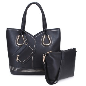 Dasein Purses Shoulder Bags Tote in Black, Brown or Army Gray