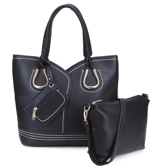 Preload https://img-static.tradesy.com/item/24034343/classic-with-matching-pouchaccessory-inside-black-brown-or-army-gray-faux-leather-tote-0-0-540-540.jpg