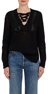 10 Crosby Derek Lam Vince Theory Lace Up Sweater