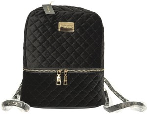 bebe Quilted Gold Hardware Backpack
