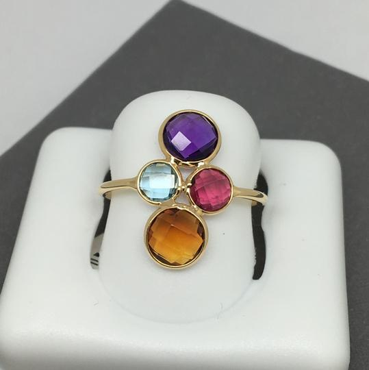other 18K Yellow Gold Natural Multi-Stone Ring Image 1