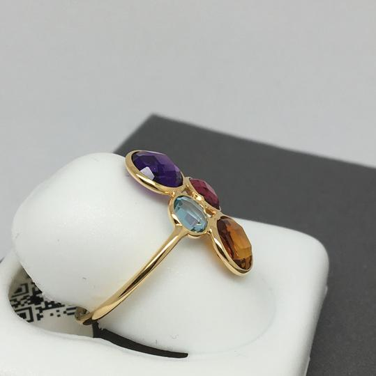 other 18K Yellow Gold Natural Multi-Stone Ring Image 2
