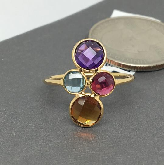 other 18K Yellow Gold Natural Multi-Stone Ring Image 3